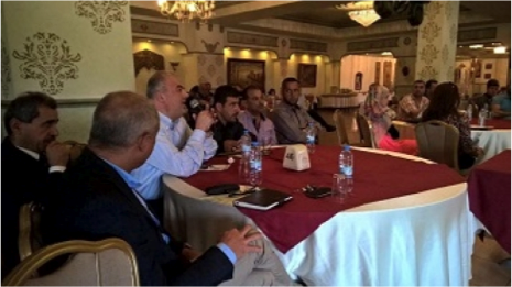 Consultation meeting with the municipalities in Tyre - Lebanon