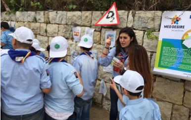 Awareness raising activities in Lebanon