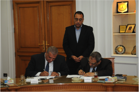 MoU on energy conservation in new buildings between NREA and ‪NUCA‬‬‬