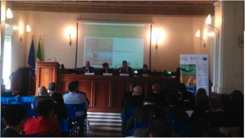 "MED-DESIRE project at the ENPI CBC MED capitalization event ""Environmental sustainability challenges in the Mediterranean Area"", Rome, October 28th"