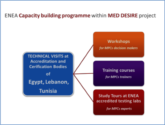 MED DESIRE capacity building programme: latest news on the ongoing cooperation activities