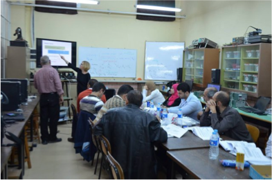 MED-DESIRE training courses for Photovoltaic system installers in Egypt