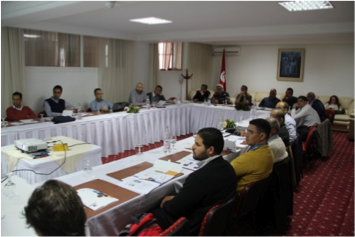Training activity in Tunisia on Large Scale Solar Plants and Solar Cooling Plants