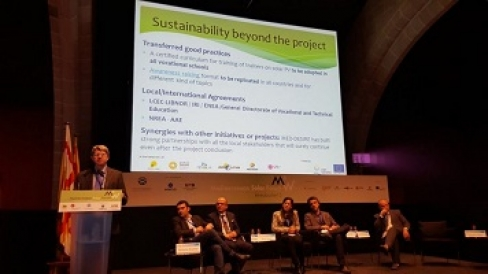 The Andalusian Energy Agency participated in the 2nd MEDA Solar Forum –Barcelona, November 26
