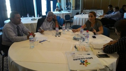 After MED-DESIRE training sessions in Tunis on 29-30 September: first results