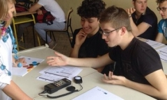 MED-DESIRE energy efficiency labs in Apulian high schools