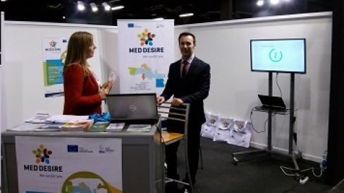 MED-DESIRE participation in Egetica fair - Spain