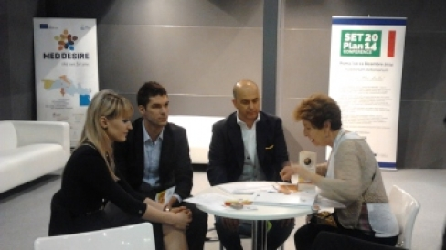 MED DESIRE project participation in SMART ENERGY EXPO, Verona, Italy