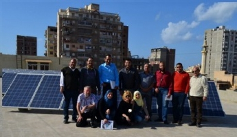 The qualification of trainers of PV system installers: the first MED DESIRE course in Egypt