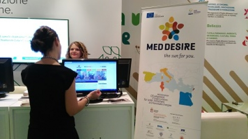 MED-DESIRE at Fiera del Levante in Bari