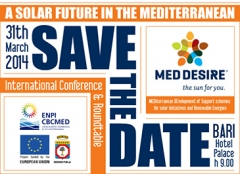 Bari hosts MED-DESIRE launching event